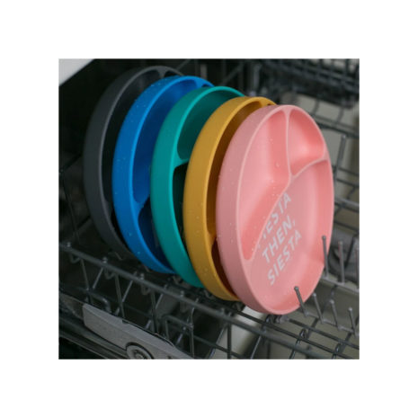 divided silicone plate dishwasher safe