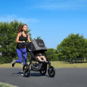 bob single jogging stroller