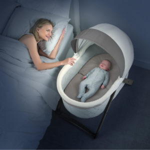 ingenuity folding bassinet wooden