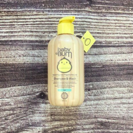 Sun Bum Baby Bum Shampoo & Body Wash - gel