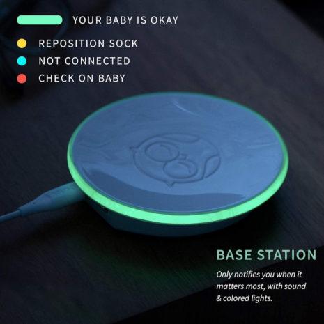 baby breathing heart monitor