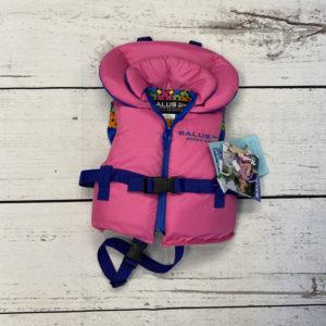 toddler pink life jacket