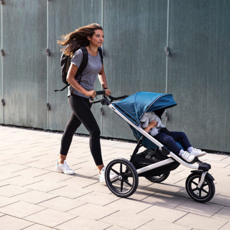 single jogging stroller