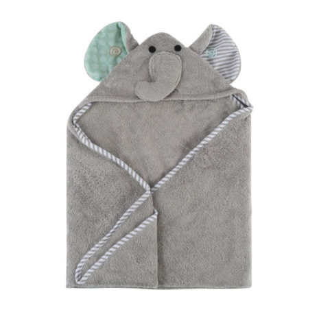 cute animal newborn baby hooded towel