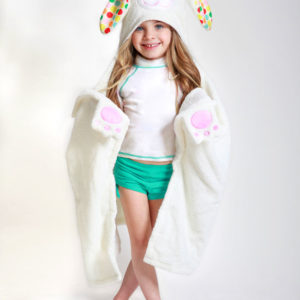 cute fun toddler towel hooded