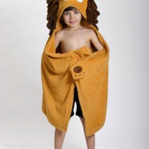 fun toddler hooded towel
