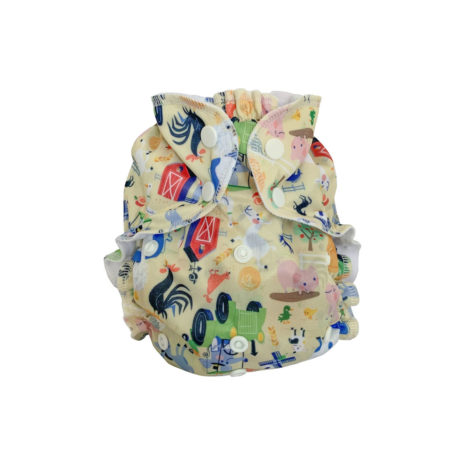 fun printed cloth diapers one size