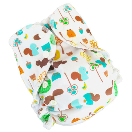 printed one size cloth diaper