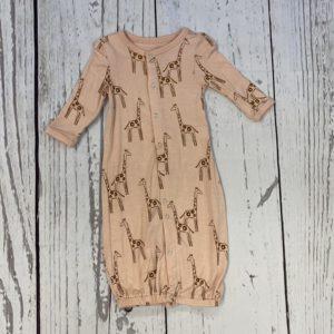 Gown bamboo newborn