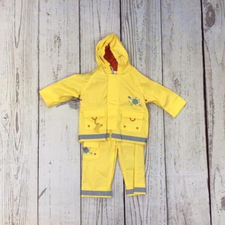 Kushies Rain Jacket and Pant Set-Yellow