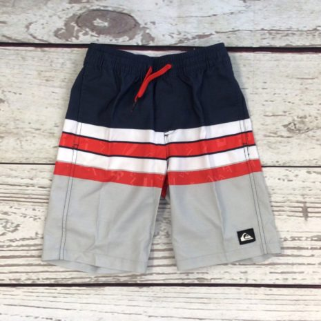 Quiksilver Magic Volley Boy Striped Shorts