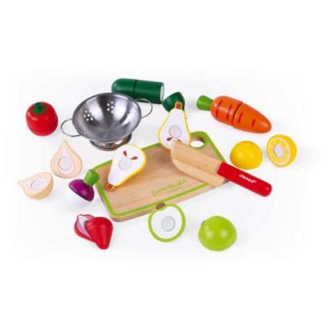 Janod Fruit and Vegetables Maxi Set