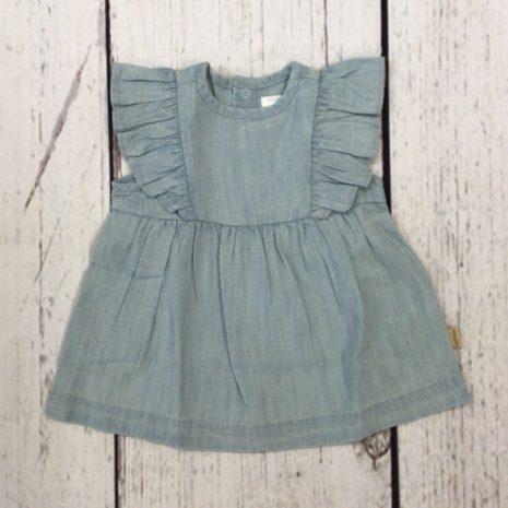 Noppies Light Blue Denim Dress