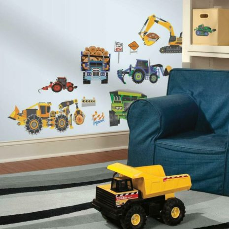 RoomMates Wall Decals - Construction Vehicles