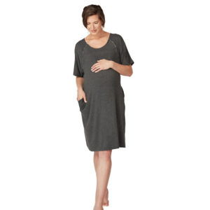 labour and delivery nursing gown nighty