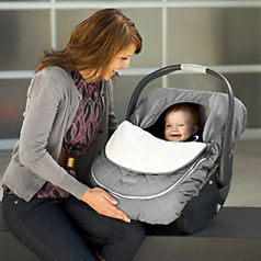 winter baby car seat coverr