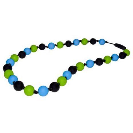 Munchables Black/Green/Blue Necklace