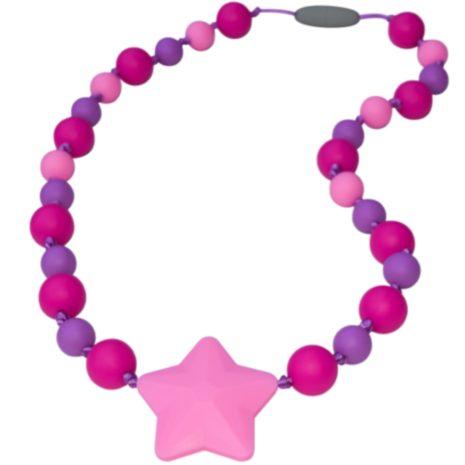 Munchables Starlight Necklace - Purple/Aqua/Pink