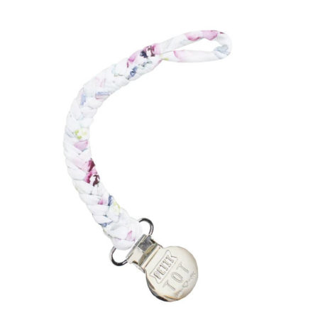 girly pacifier clip