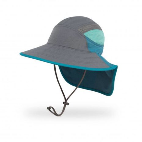 Sunday Afternoons Kids Ultra Adventure Hat- Cinder/Blue Mountain