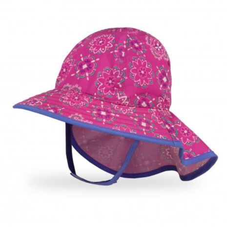 Sunday Afternoons Infant Sun Sprouts Hat- Soldana Rose/Iris