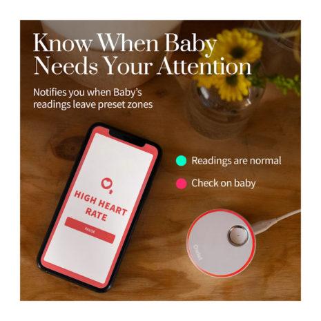 baby heart monitor sock