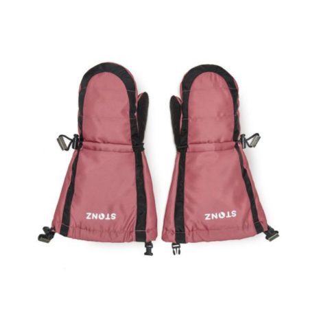Stonz Youth Mitts- Black/Dusty Rose