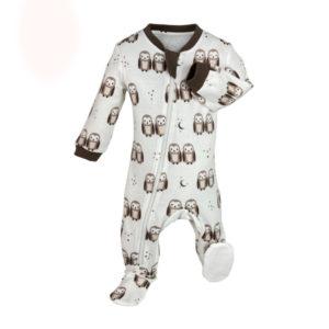 zipper organic neutral baby sleeper