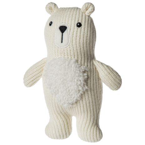 Mary Meyer Knitted Polar Bear