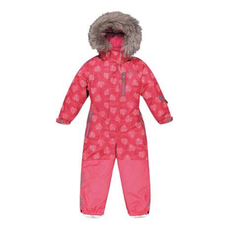 Kuoma Pink Heart Snowsuit