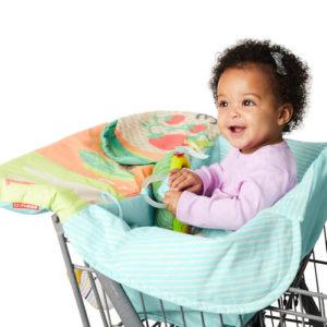 high chair shopping cart cover