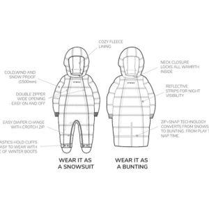 snowsuit features